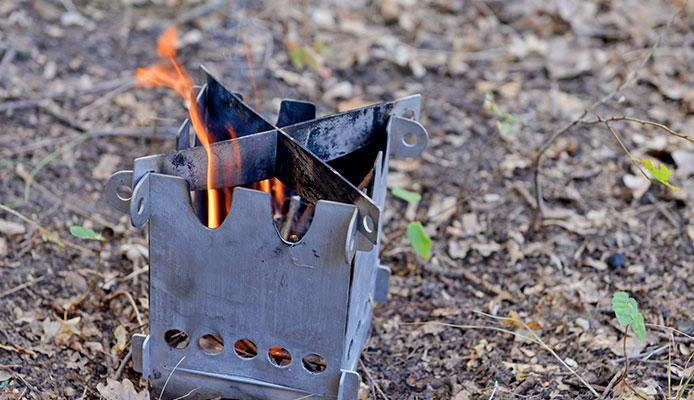 Hornillo port/átil para acampada color azul Camping Gaz 1 Feu R